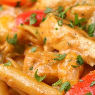 One-Pot Chicken Fajita Pasta #Recipe