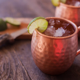 Traditional Moscow Mule.