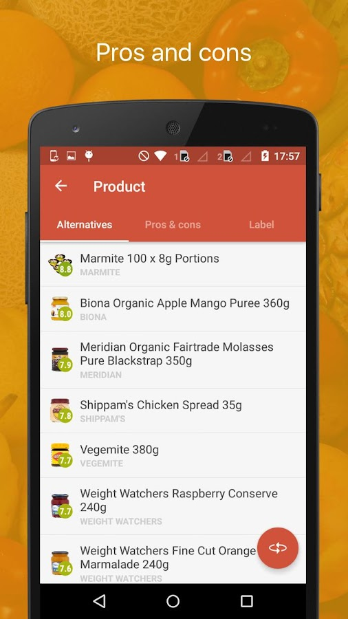 Edo - Know what you eat- screenshot