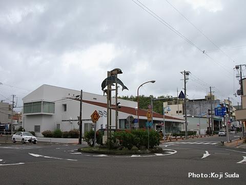 明光バス「パンダ白浜エクスプレス181号」 白浜バスセンター前
