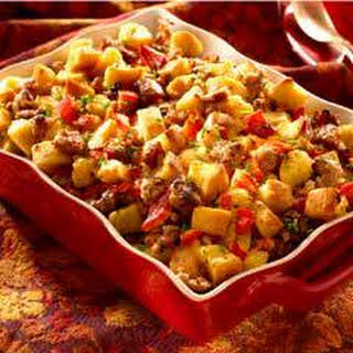 Super Moist Sausage & Bread Stuffing.