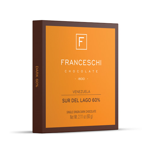 Chocolate Franceschi Sur Del Lago 60% 60gr