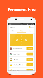 Yoga VPN - Free Unlimited & Secure Proxy & Unblock Screenshot