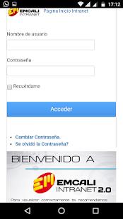 Emcali Online - náhled
