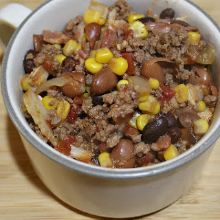 Easy Crock Pot Beef Chili.
