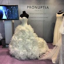 Photo: Gorgeous wedding dress! (Booth 1B-B01)