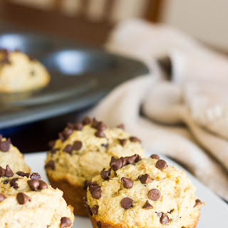 Bakery Style Oatmeal Chocolate Chip Muffins.