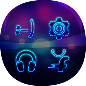 Smart Launcher Theme Neon Icon
