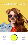 screenshot of Face Camera: Live Photo Filters, Emojis, Stickers