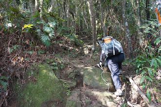 Photo: 開始朝山頂最後一段陡坡