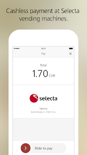 UBS TWINT – the payment app- screenshot thumbnail