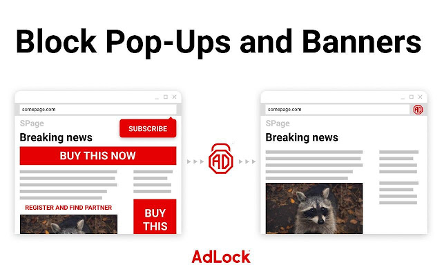 AdLock - adblocker & privacy protection