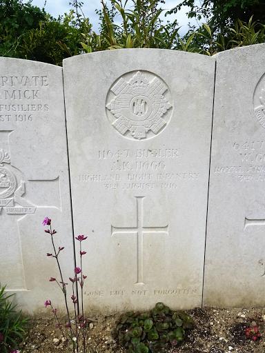 Alexander King Hogg grave