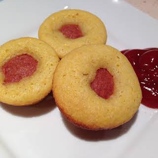Corndog Cupcakes with Chili Recipe- Easy Superbowl Snacks.
