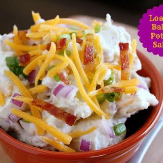 Loaded Baked Potato Salad.