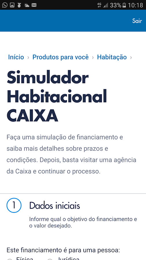 CAIXA- screenshot