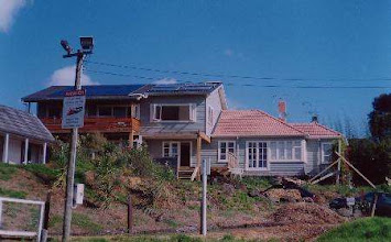 Photo: By the end of 2003 it looked like this :-)  To see how we did it look here: www.SolarEnergyHouse.co.nz
