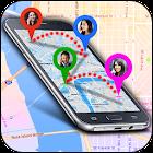 Rastreador de ubicación de número móvil icon