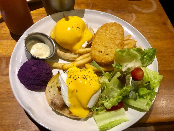 貳樓餐廳Second Floor 經典的早午餐、水波蛋、義大利麵、甜點下午茶,寵物友善餐廳,可以帶寵物一起用餐