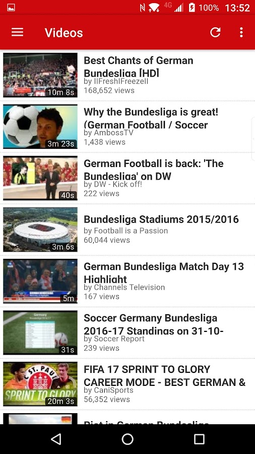 Bundesliga Explorer- screenshot