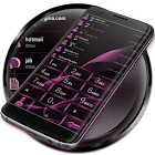 Dialer MetalGate Pink theme icon