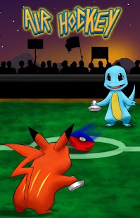 Air Hockey Poke Ball screenshot