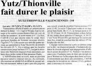 Photo: 12-02-96 N2F Yutz confirme contre Valenciennes 3-0