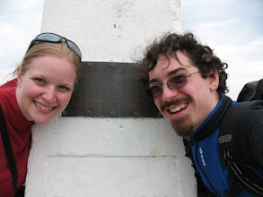 Photo: Day 2: Proof we were actually at Iceburg Point.