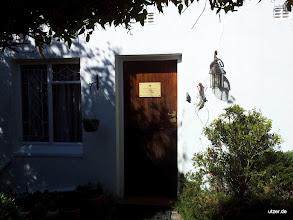 Photo: Der eingang zu meinem Cottage.