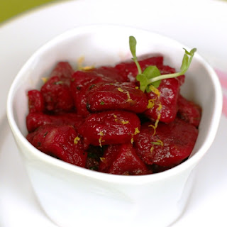 Beet Gnocchi Flambé That Will Make You Weep