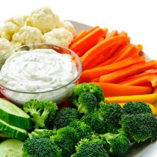 Homemade Ranch Vegetable Dip