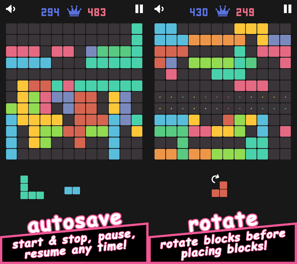 144 Blocks Puzzle- screenshot