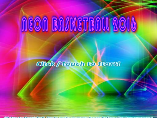 Neon Basketball 2016