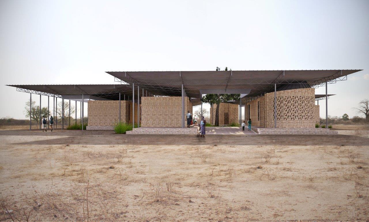 Tanzania Beekeepers Asali & Nyuki Sanctuary, hasil karya desainer Mark  L. Gardner - source: archdaily.com