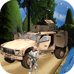 Army Jeep Off-road Driver race Icon