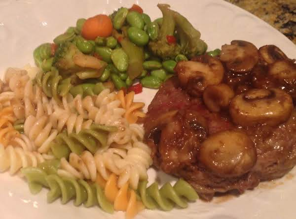 Flaming Steak Diane Recipe