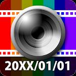 DateCamera(Auto timestamp) Icon
