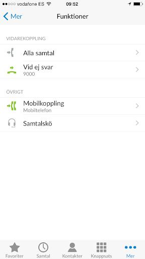 Mobil växel - UC 1000 Sweden