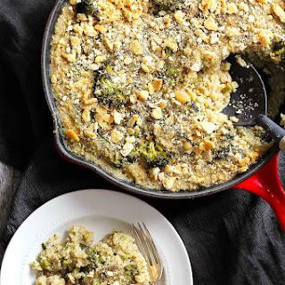 Broccoli & White Cheddar Quinoa Mac and Cheese