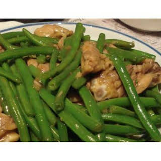 Chicken With Green Beans.