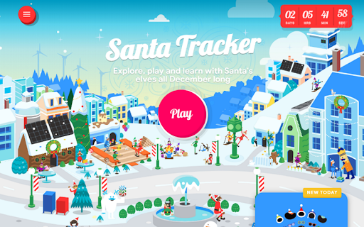 Google Santa Tracker screenshot 15