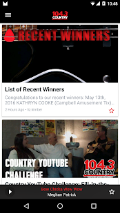 COUNTRY 104.3 Sault Ste. Marie- screenshot thumbnail