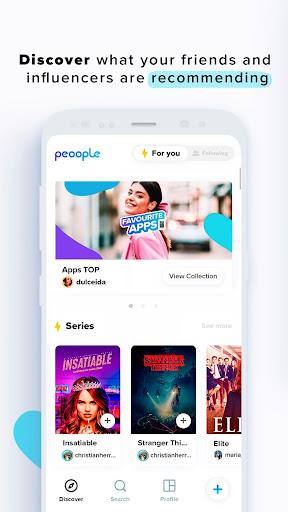 Peoople screenshot 1