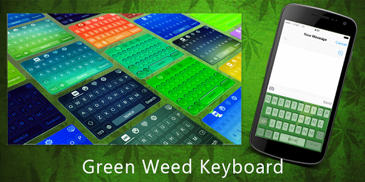 Green Weed Keyboard