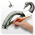 Draw 3D Pictures pro icon