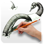 Draw 3D Picture Icon