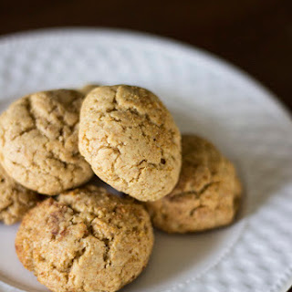 Sugar-Free Ginger Cookies  (dairy-free).