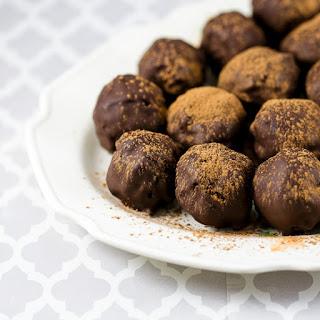 Dark Chocolate Rum Truffles Recipe