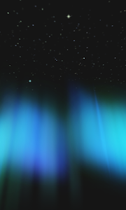 Aurora 3D Live Wallpaper Free screenshot 0
