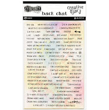 Dylusions Creative Dyary - Back Chat Stickers